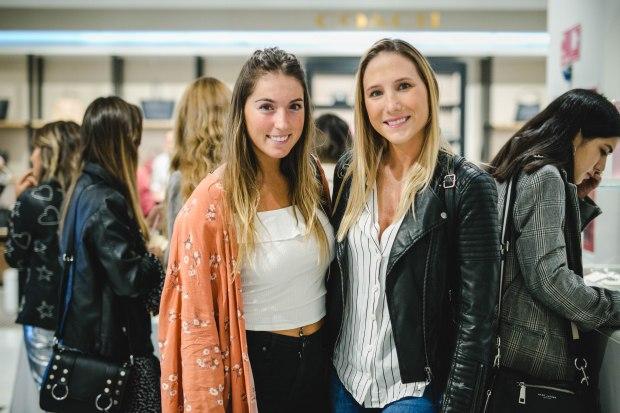 Agustina Valenzuela y Camila Grove