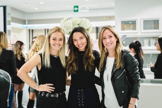 Daniela Nicolás, Sol Becerra y Verónica Saranz