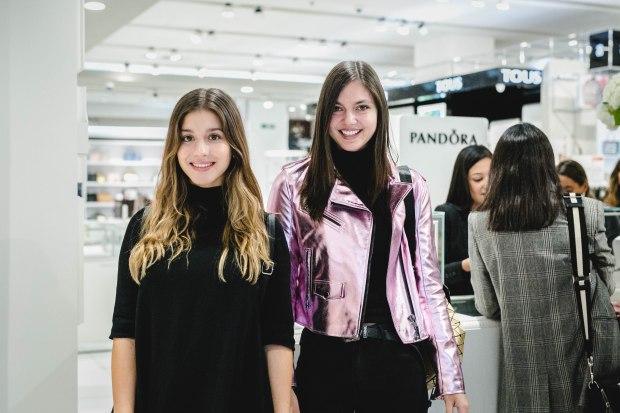 Valentina Flores y Daniela Muñoz